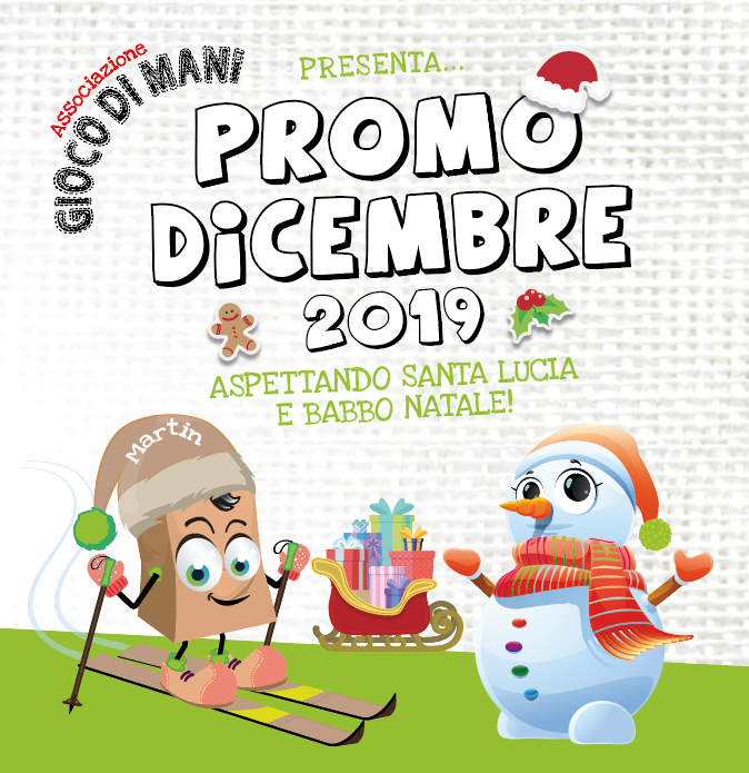 PROMO DICEMBRE 2019 – Aspettando Santa Lucia e Babbo Natale